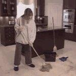 1个动作,地板7天不拖都干净!清洁除味、保护地板,满屋子清香!