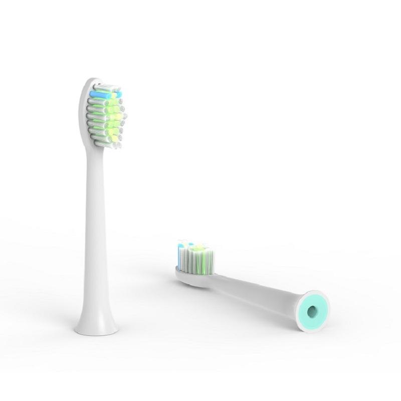 JSS智能声波电动牙刷D系列替换刷头 4支装软毛通用刷头