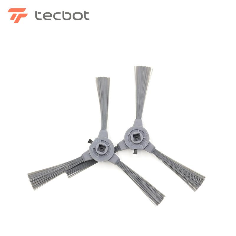 Tecbot探博扫地机器人配件——原装边刷1对(适合TG\TV\TL机型)