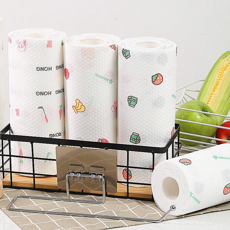 可水洗懒人抹布干湿两用 厨房一次性洗碗布不沾油无纺布巾家用纸