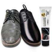 皇宇皮鞋油男黑色家用无色固体亮光保养鞋刷套装膏体真皮擦鞋神器