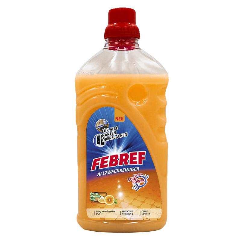 德国febref菲碧清进口浓缩地板清洁剂瓷砖实木复合地板清洗拖地