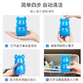 蓝泡泡洁厕灵马桶除臭去异味厕所清洁剂液宝清香型家用除垢黄神器