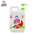 白猫经典配方洗洁精2kg*8瓶整箱装轻松去油可洗果蔬洗涤精洗碗液