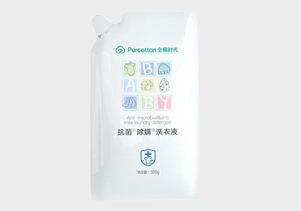 hg全棉时代婴儿洗衣液宝宝专用儿童抑菌除螨洗衣液500ml杀菌率99%