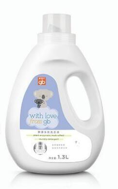 gb好孩子酵素浓缩多效婴儿洗衣液宝宝洗衣液专用儿童洗衣液1.3L