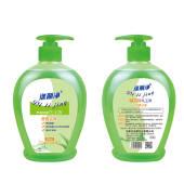 芦荟洗手液滋润保湿抑菌去油家用厨房易套装500ml*2舒服佳随身