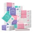 60包植护原木抽纸巾面巾餐巾纸家用擦手实惠装婴儿卫生纸抽整箱批
