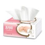 五月花抽纸妇婴面巾纸原木餐巾纸抽取式卫生纸巾整箱家用实惠装