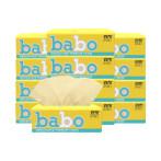 斑布BABO本色竹浆纸巾抽纸卫生纸餐面手巾家用实惠整箱90抽30包