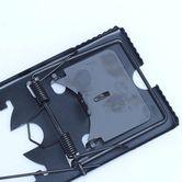 大型铁夹强力老鼠野外家用捕鼠器钢丝圆形铁质大号老式弹簧夹子家