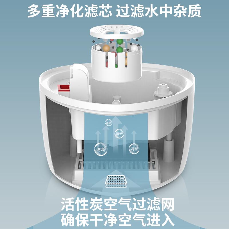 康佳加湿器家用静音卧室孕妇婴儿空气净化大容量智能落地式香薰机